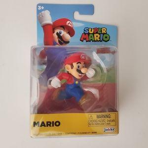 Jakks Mario Figure NEW Super Mario Brothers